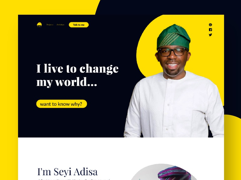 web design_seyi_aisa uidesign ui webdesign website design website uiux web