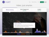 Vuact Homepage v2
