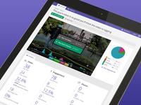 Video Analytics Dashboard