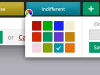 Button Customizer UI