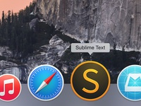 Sublime Text Icon for OS X Yosemite (.sketch)