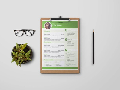 Free Four Pages CV/Resume Template