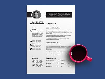 Free Chief Executive Resume Template cv resume template resume freebies cv template freebie cv design curriculum vitae