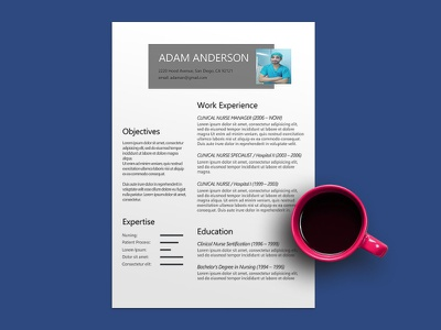 Free Clinical Nurse Resume Template cv resume template resume freebies cv template freebie cv design curriculum vitae
