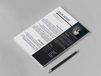 Free Corporate Recruiter Resume Template cv resume template resume freebies cv template freebie cv design curriculum vitae