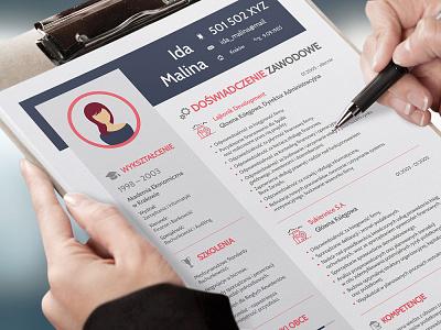 Free Creative Office Resume Template free resume template cv resume template resume freebies cv template freebie cv design curriculum vitae