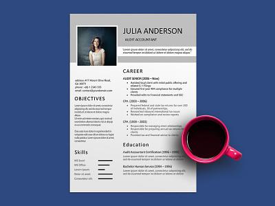 Free Audit Accountant Resume Template free resume template cv resume template resume freebies cv template freebie cv design curriculum vitae