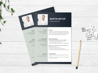 Free Store Manager Resume Template