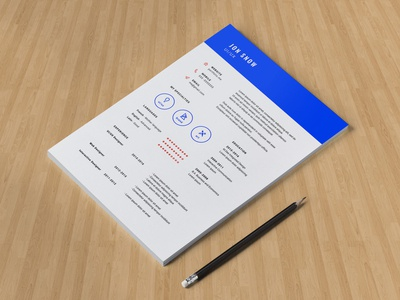 Minimalist Resume Template (Freebies)