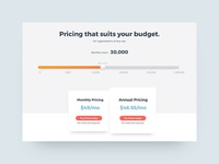 Product Pricing Page