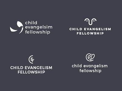 CEF Logo Concepts children kids bird scripture gospel bible logo