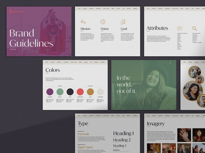 Miles Christi Brand Guide brand identity branding design idenity branding styleguide style guide brand guide