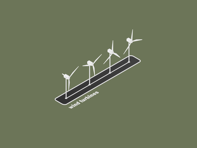 Isometric wind turbines power electricity technology wind turbines wind turbine isometric isometric art isometry isometric design isometric illustration isometrc