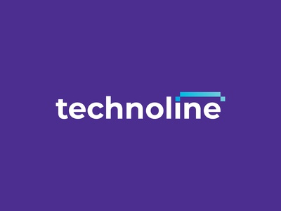 Techno Line Logo Design