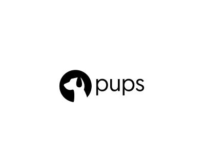 Pups logo design brand identity