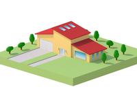 Mini 3D House