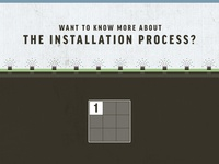 Installation Process Infographic