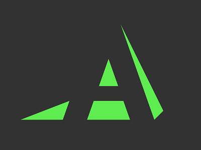 Fort Worth Academy Identity identity green modern geometric elementary education school logo a