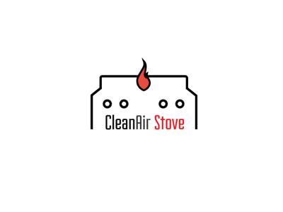 Clean air stove logo