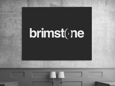 Brimstone Hotel and Spa hotel spa logo branding type