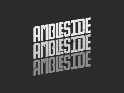 Ambleside custom typography