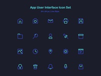 App User Interface Icon Set.