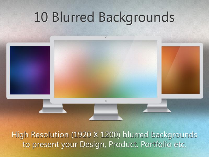 10 Blurred Backgrounds...!!! backgrounds wallpaper design wallpaper design
