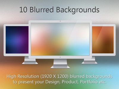 10 Blurred Backgrounds...!!!