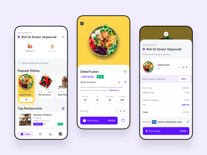 Foodzy App - Part 1