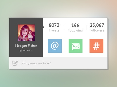 Twitter UI