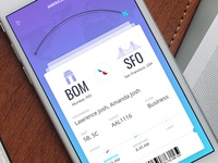 UI Design for Flight App