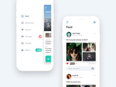 Newsfeed UI