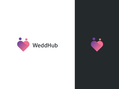 WeddHub Logo Design