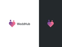 WeddHub Logo Design