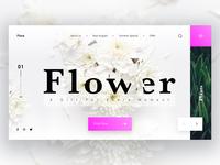 Flora Landing Page UI