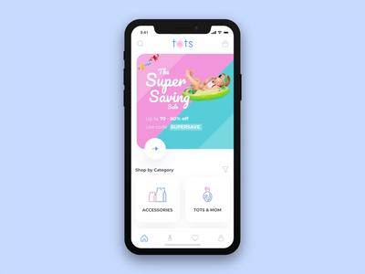 E-commerce mobile app prototype - Part 1