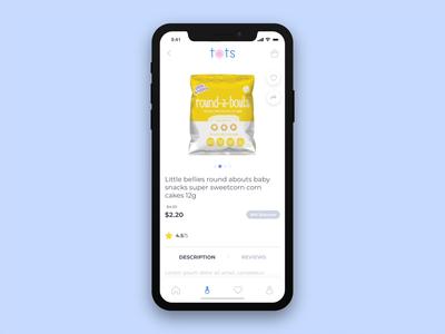 E-commerce mobile app prototype - Part 2