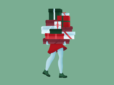 A little late Christmas illustration