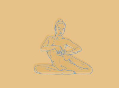 Croquis practice no.1