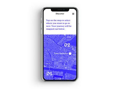 Daily Ui 20 gps map mobile typography dailyui ux ui design