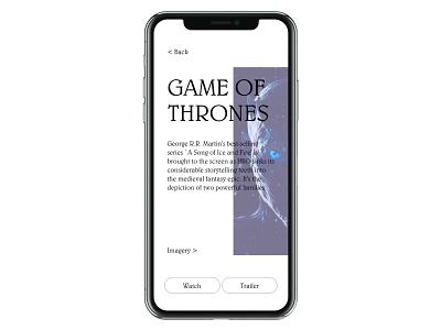 Daily Ui 25 app tv app mobile typography dailyui ux ui design