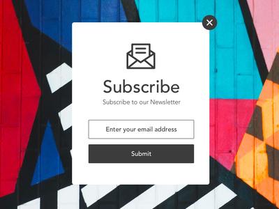 Daily Ui 26 newsletter subscribe desktop dailyui ui ux design