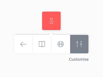 Daily Ui 27 profile dropdown icon dailyui ux ui design