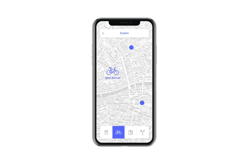 Daily Ui 29 icon map app mobile dailyui ux ui design