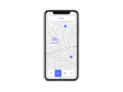 Daily Ui 29 icon map app mobile dailyui ux ui design