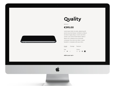 Daily Ui 33 product customise desktop typography dailyui ux ui design