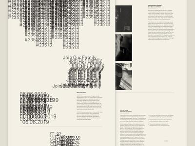 Mocktober 2018 - #23513 Cult halloween website desktop mocktober2018 mocktober typography ux ui design