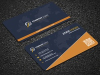 NEAT AND CLEAN CORPORATE BUSINESS CARD DESIGN