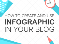 How to create and use infographics in your blog