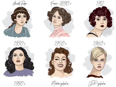 Eyelashes Collage